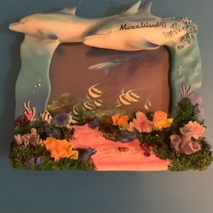 DOLPHIN PICTURE FRAME!